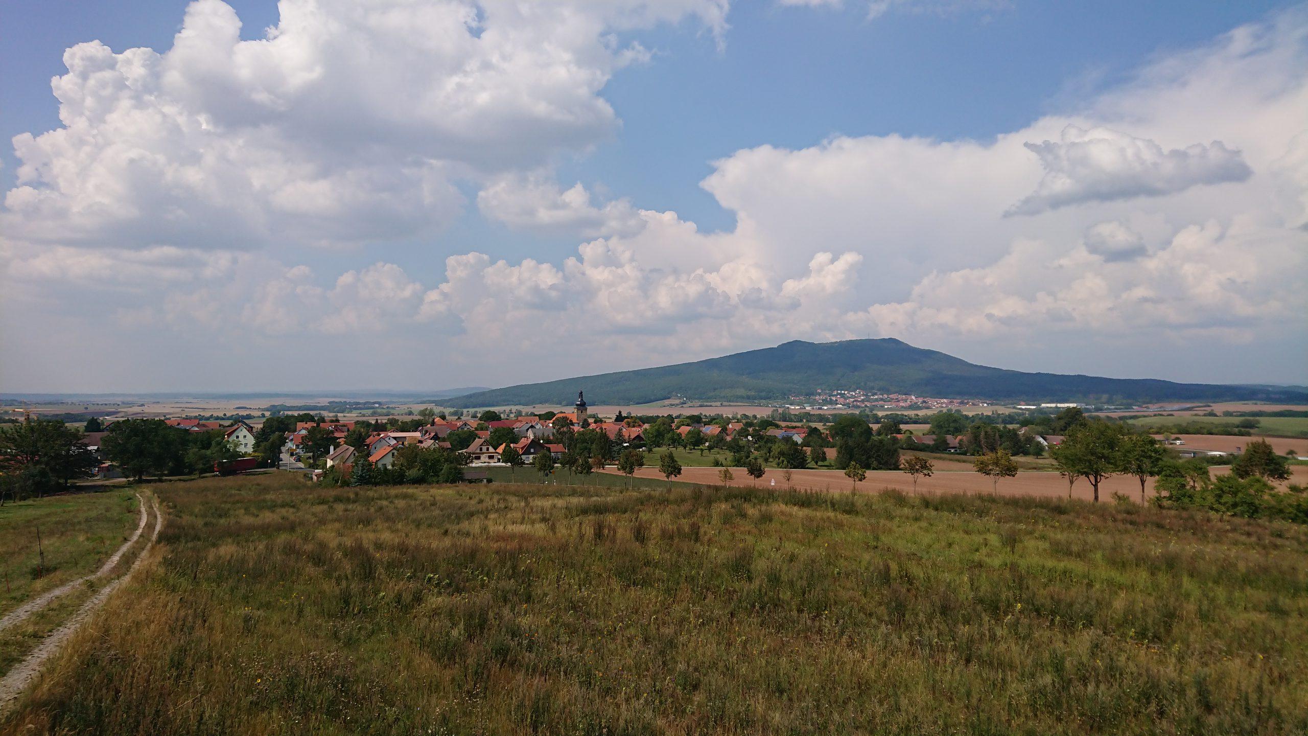 Blick zum Großen Gleichberg