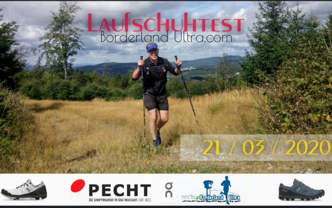 Laufschuhtest und Streckenbesichtigung